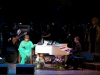 Patti LaBelle and Julian Spires on stage at the Kennedy Center
