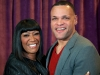 Patti LaBelle and musical director John Stanley at Ellington Reception