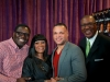 Jamar Jones, Patti LaBelle, John Stanley and Rory Pullens at Ellington Reception
