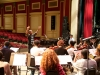 Julian Spires, Ellington Student and Music Director and Ellington Orchestra in Rehearsal