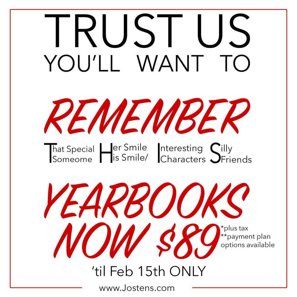 Yearbook Announcement SY17-18