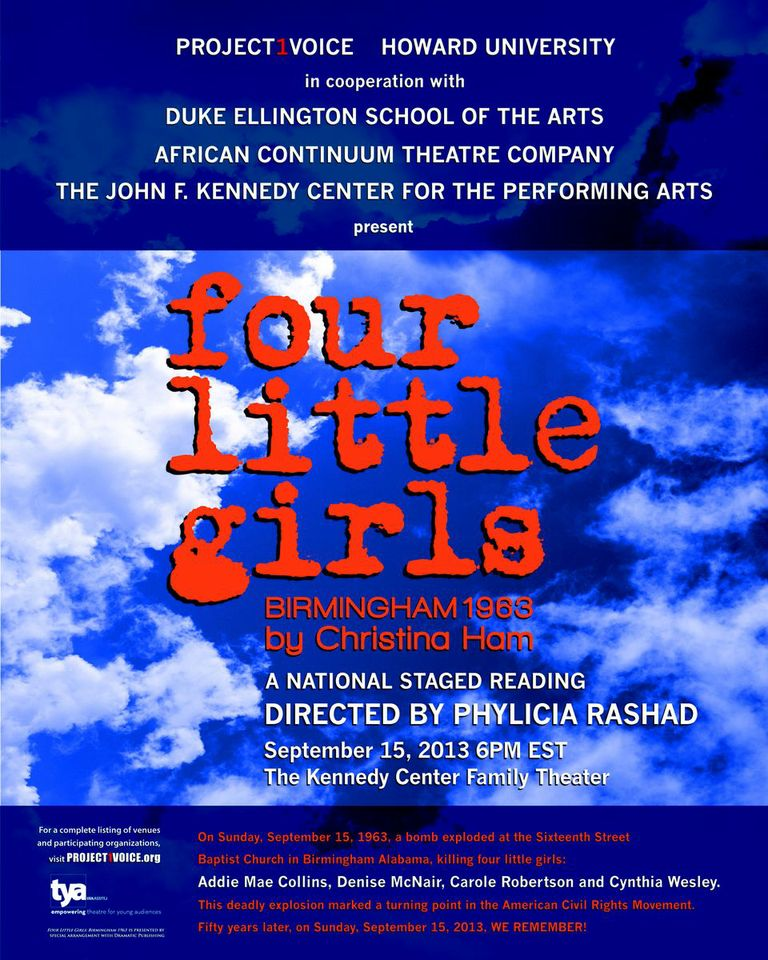 Four Little Girls Poster