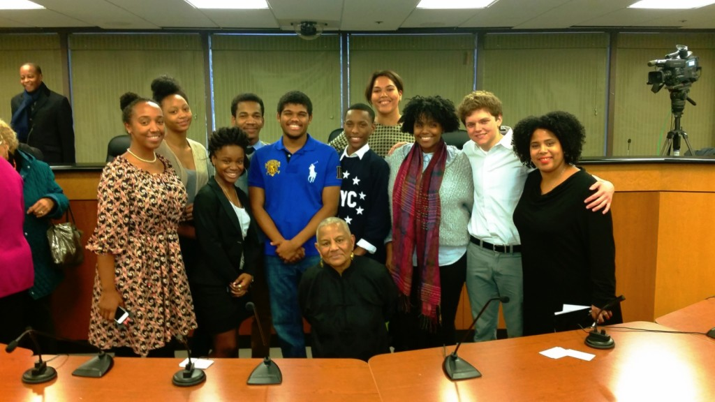 Students at MBowser Public Forum 2