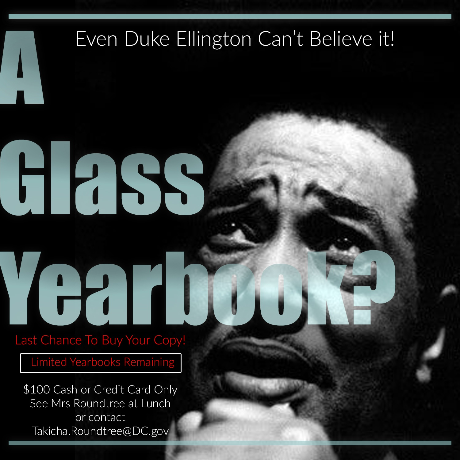 Last Chance to get Yearbooks