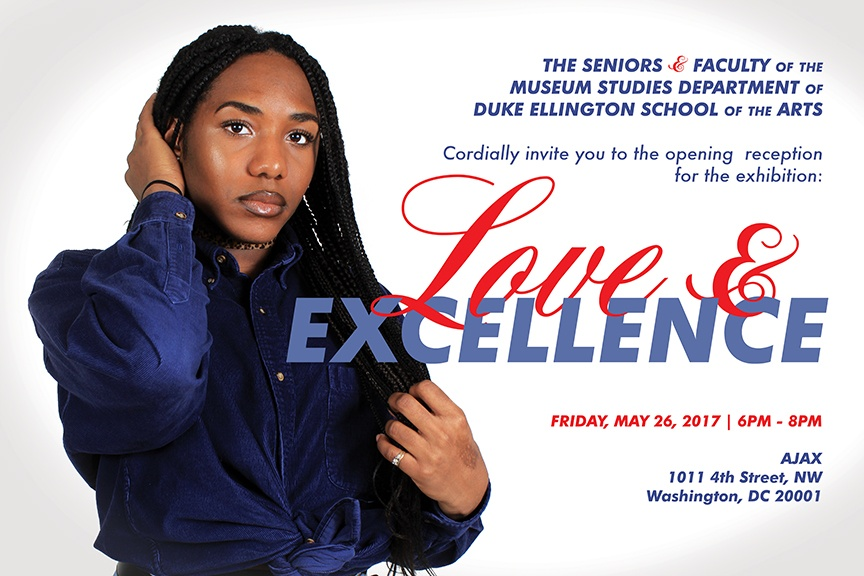 Museum Studies Exhibition - Love and Excellence Flyer - 2017.5