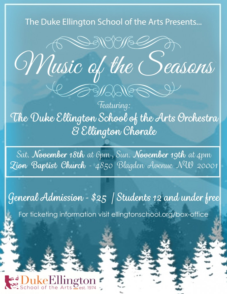 Music of the Seasons - Joing Concert - 2017.11