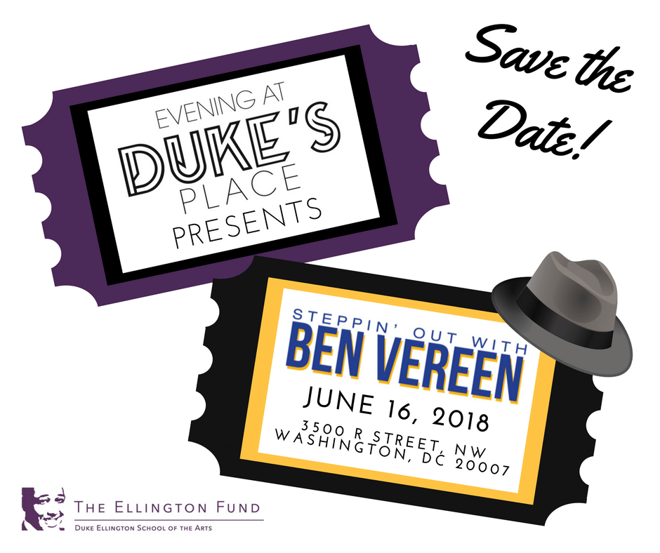 Evening at Duke's Place Presents Steppin' Out with Ben Vereen Save The Date
