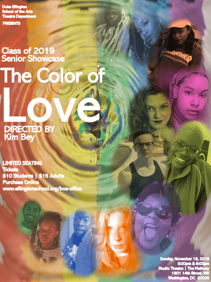 The Color of Love Flyer