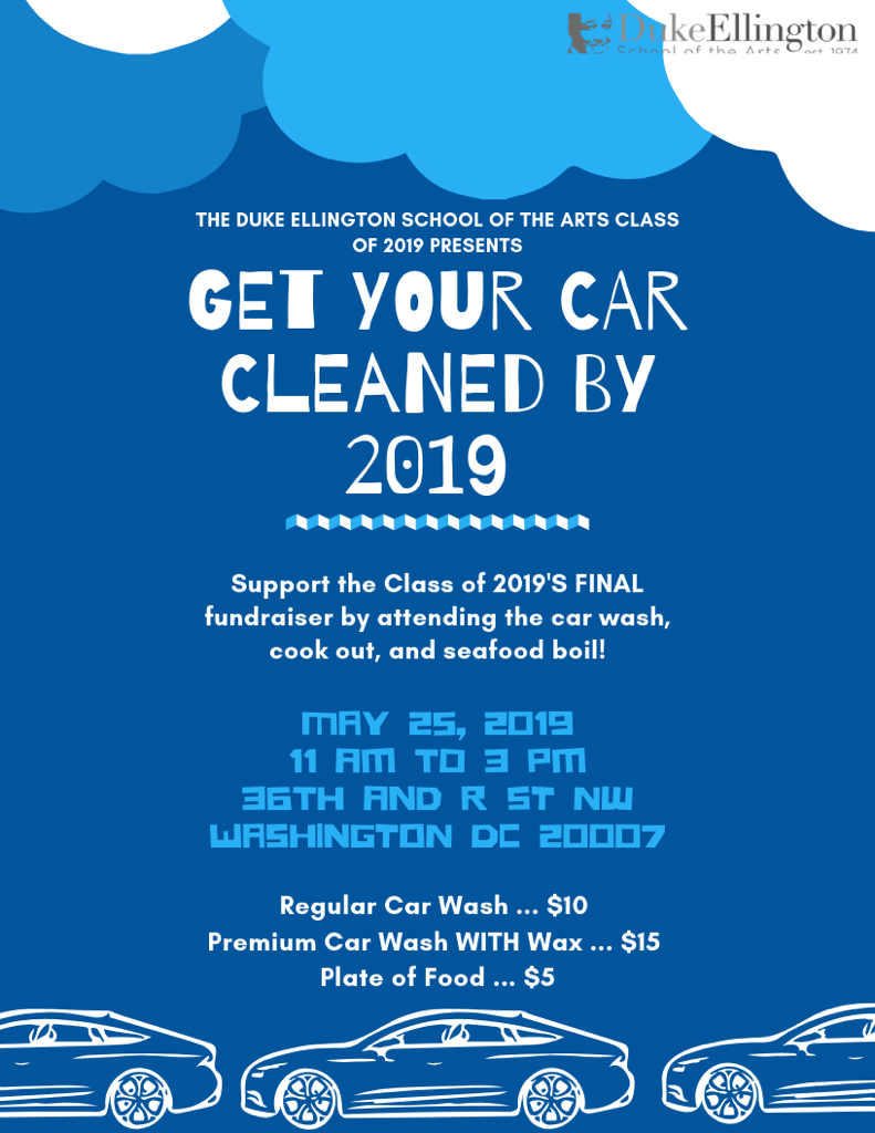 Senior Class Car Wash Fundraiser - 2019.5