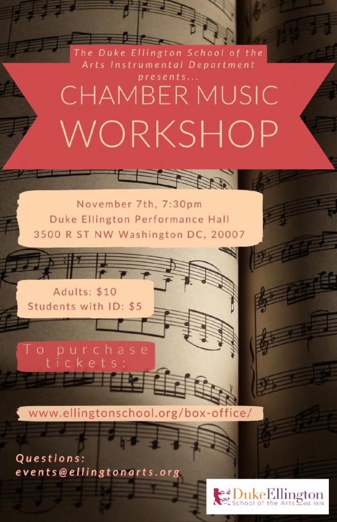 Chamber Music Workshop - 2019.11.7