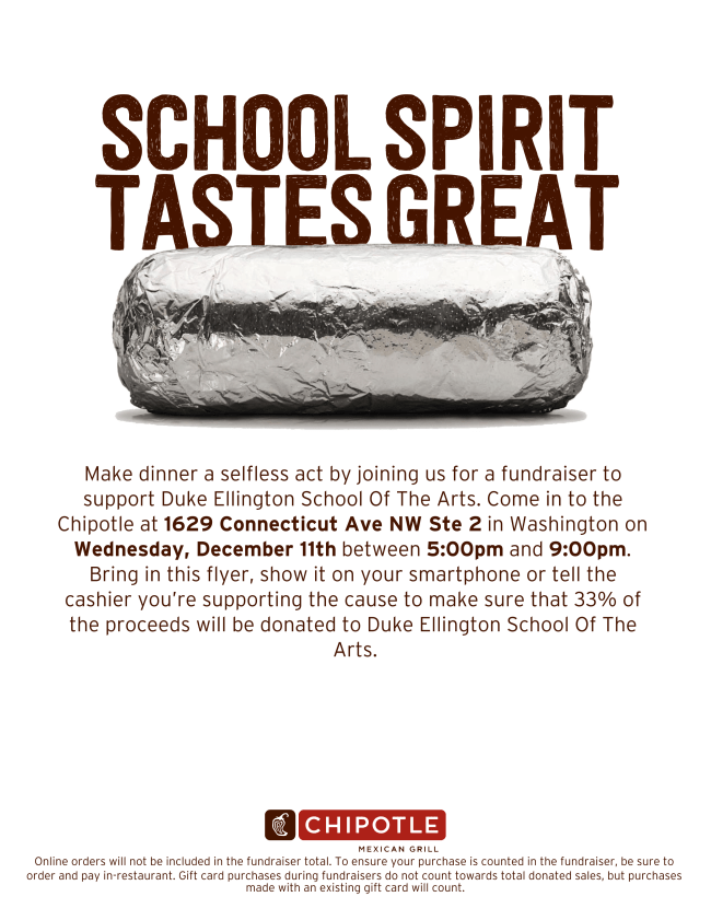 Chipotle Fundraiser - 2019.12.11