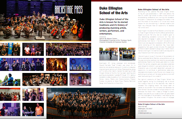 Simply Bowie August Issue - Ellington Feature